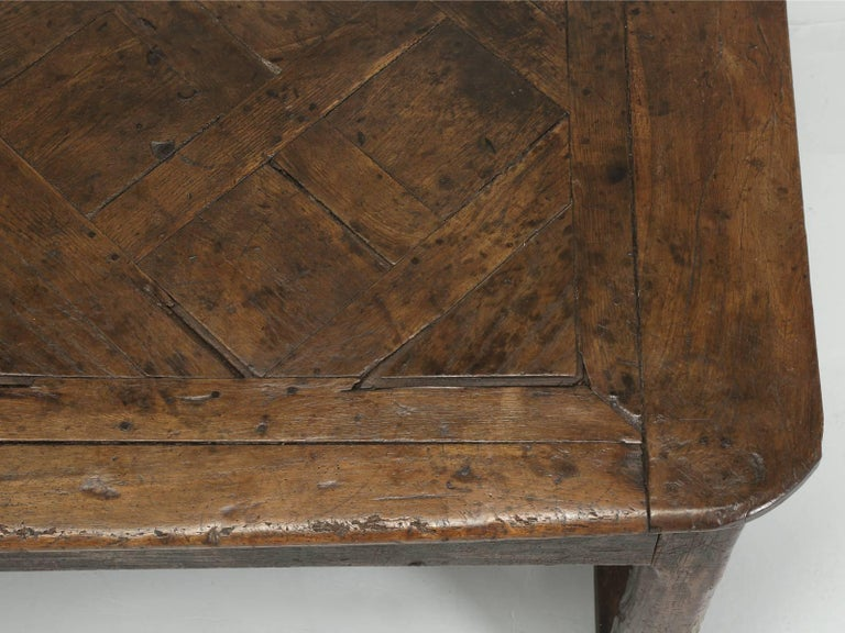 Antique French Farm Table with Drawer, circa 1700 6