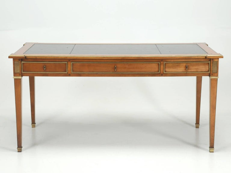 Antique French Louis XVI Style Desk Unrestored and Beautiful 6