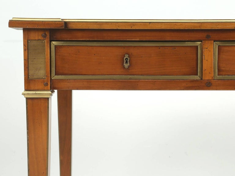 Antique French Louis XVI Style Desk Unrestored and Beautiful 7