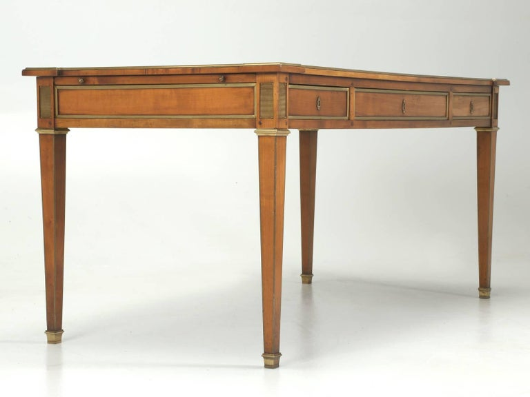 Antique French Louis XVI Style Desk Unrestored and Beautiful 9