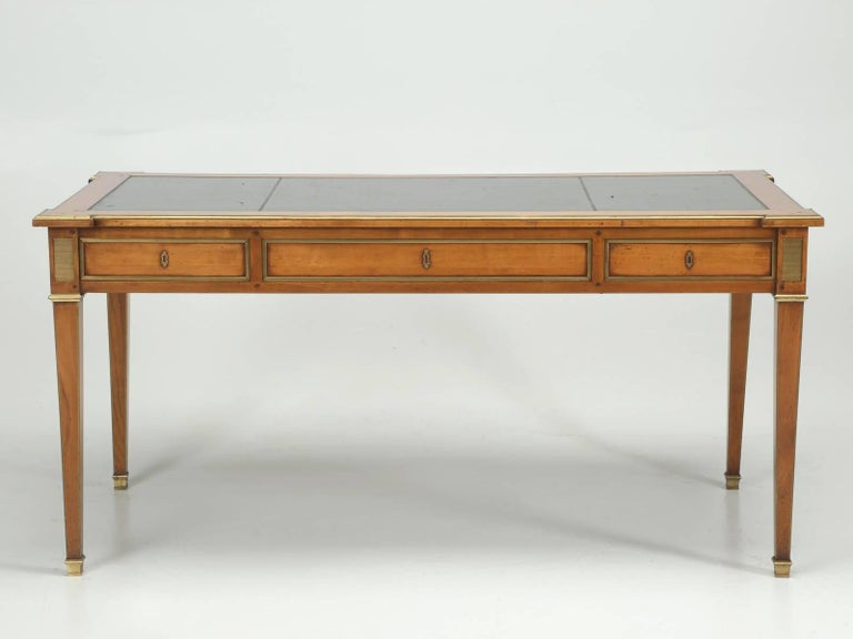 Antique French Louis XVI Style Desk Unrestored and Beautiful 10