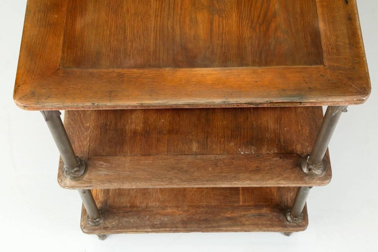Antique French Kitchen Island or Industrial Work Table, circa 1900 5