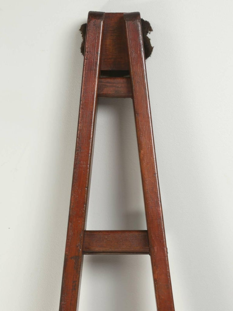 Antique Cherry Orchard French Ladder For Sale at 1stdibs