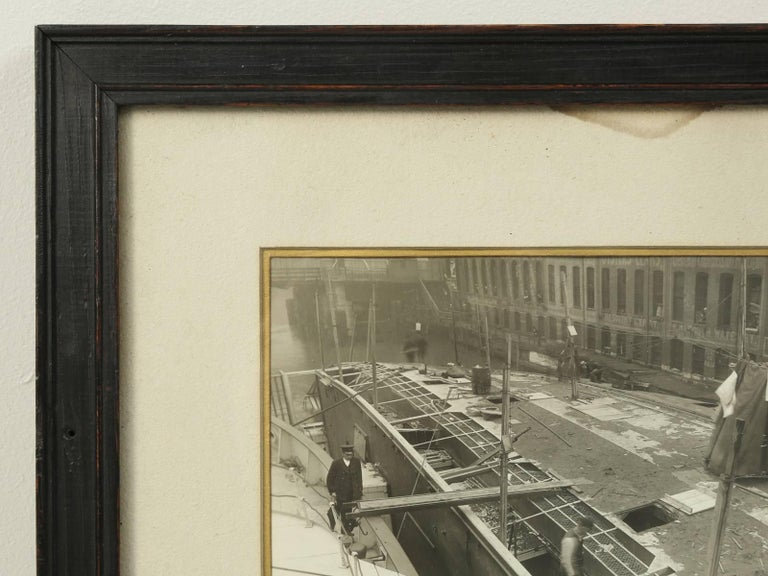 American 1915 Eastland Disaster in the Chicago River, Original Photograph For Sale