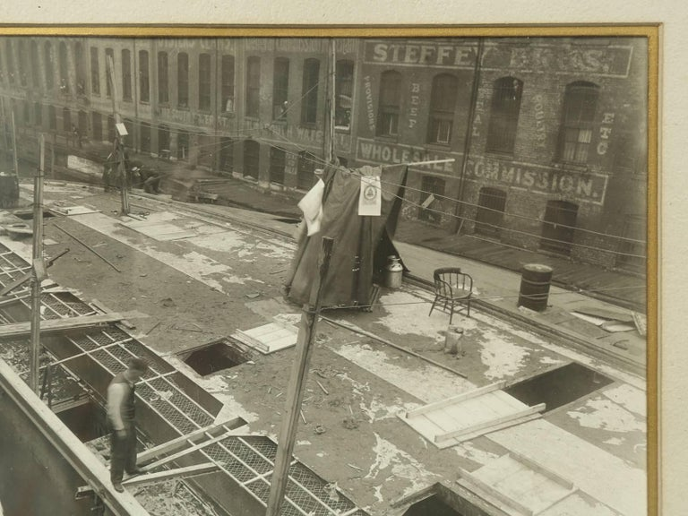 Early 20th Century 1915 Eastland Disaster in the Chicago River, Original Photograph For Sale