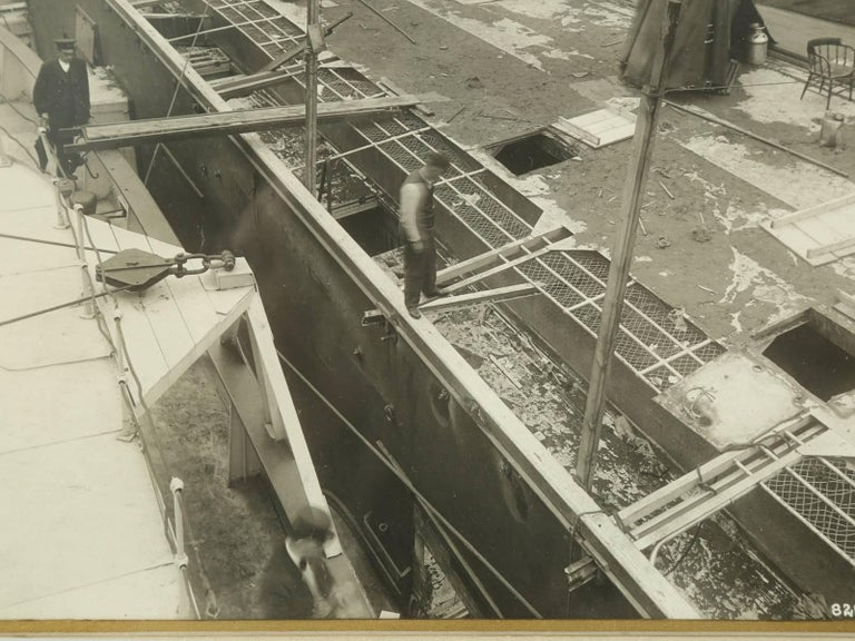 1915 Eastland Disaster in the Chicago River, Original Photograph For Sale 1