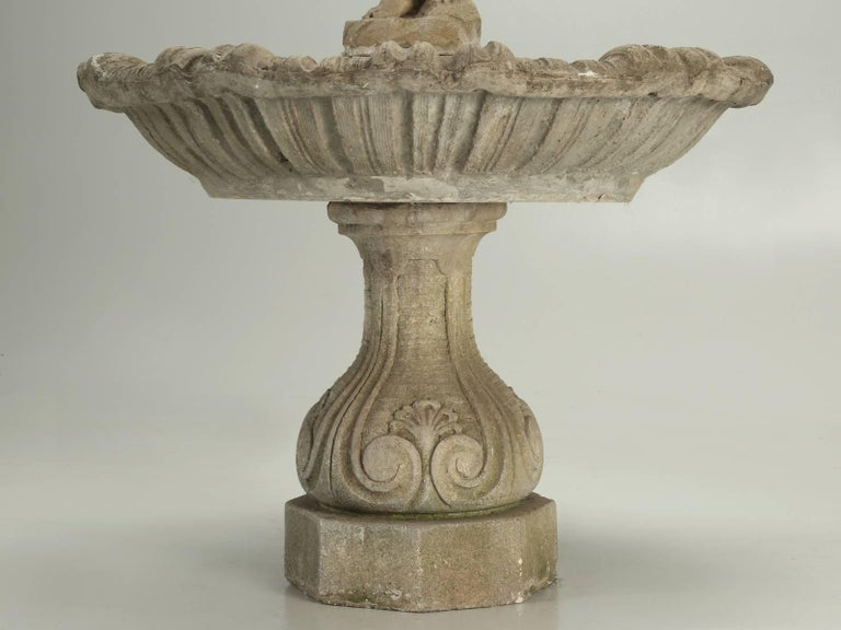 Antique Outdoor Fountain for the Garden of a Chicago, circa 1886, Row House For Sale 3