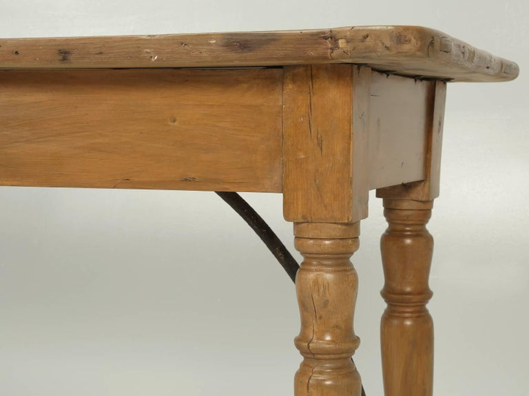 Antique Kitchen or Console Table For Sale 1
