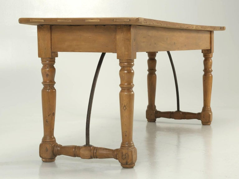 Early 19th Century Antique Kitchen or Console Table For Sale