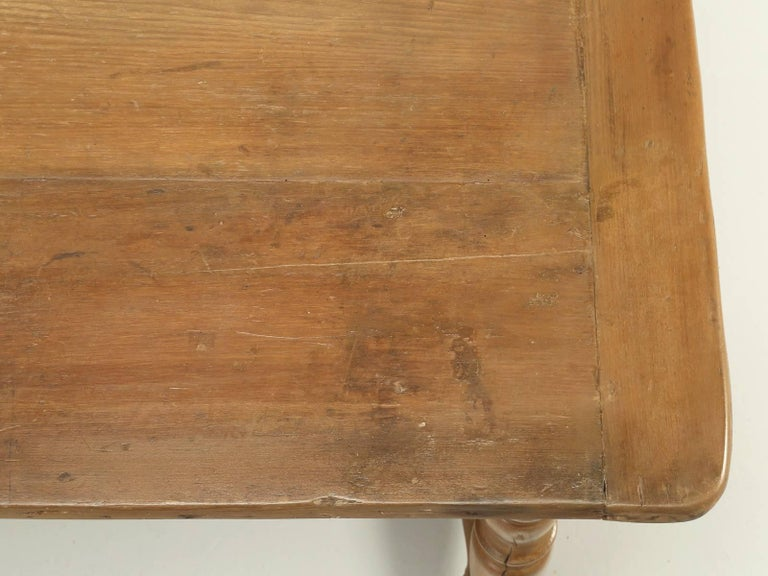 Irish Antique Kitchen or Console Table For Sale