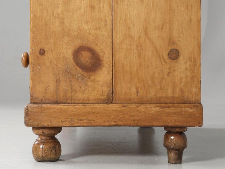 Antique Pine Hutch, Dresser or Cabinet For Sale 9 - Antique Pine Hutch, Dresser Or Cabinet For Sale At 1stdibs