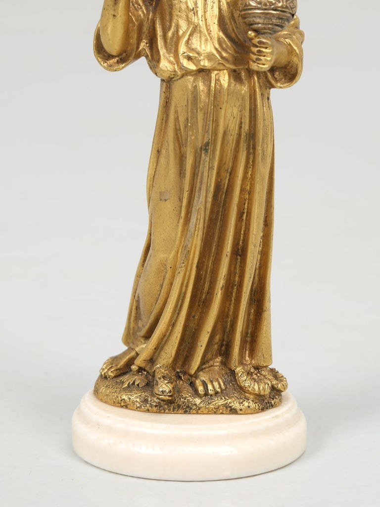 French Doré Bronze Sculpture of a Young Christ For Sale 2