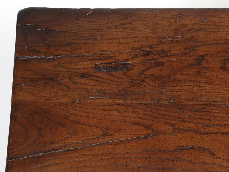 Early 19th Century Antique French Trestle Dining Table, circa 1800 For Sale