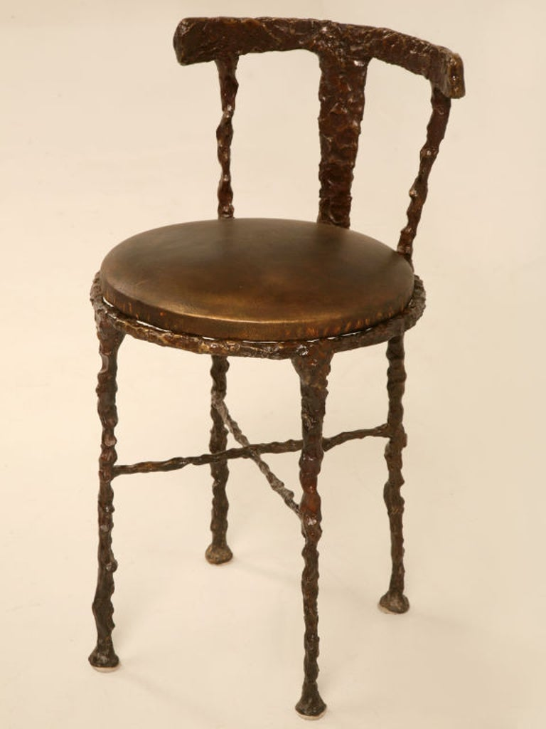 Giacometti Inspired Bronze Dressing Table For Sale 2