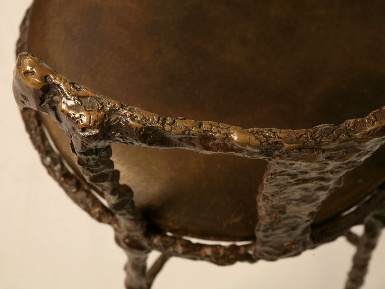 Giacometti Inspired Bronze Dressing Table For Sale 3