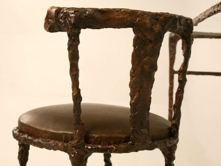 Giacometti Inspired Bronze Dressing Table For Sale 4