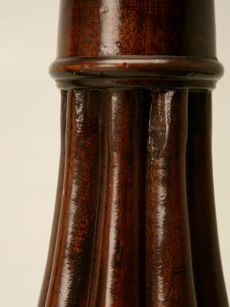 English Mahogany Table Lamp, circa 1920- 1stdibs New York For Sale 3