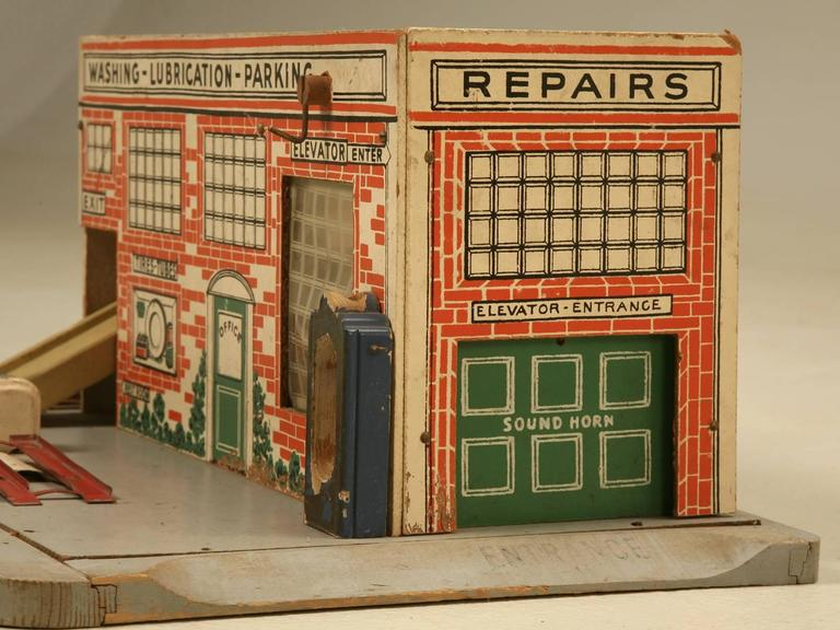American Toy Childs Automobile Garage For Sale At 1stdibs