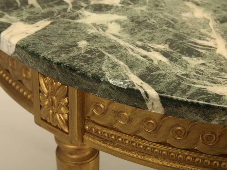 French Louis XVI Style Coffee Table For Sale 2