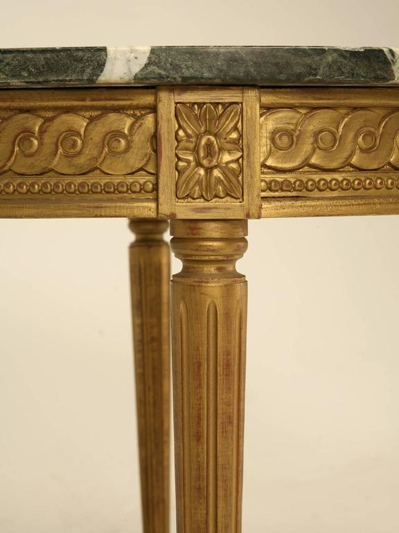 French Louis XVI Style Coffee Table For Sale 5