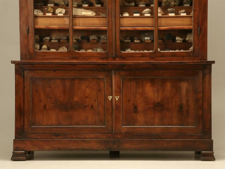 Late 19th Century French Specimen Cabinet or Bookcase, circa 1891 For Sale