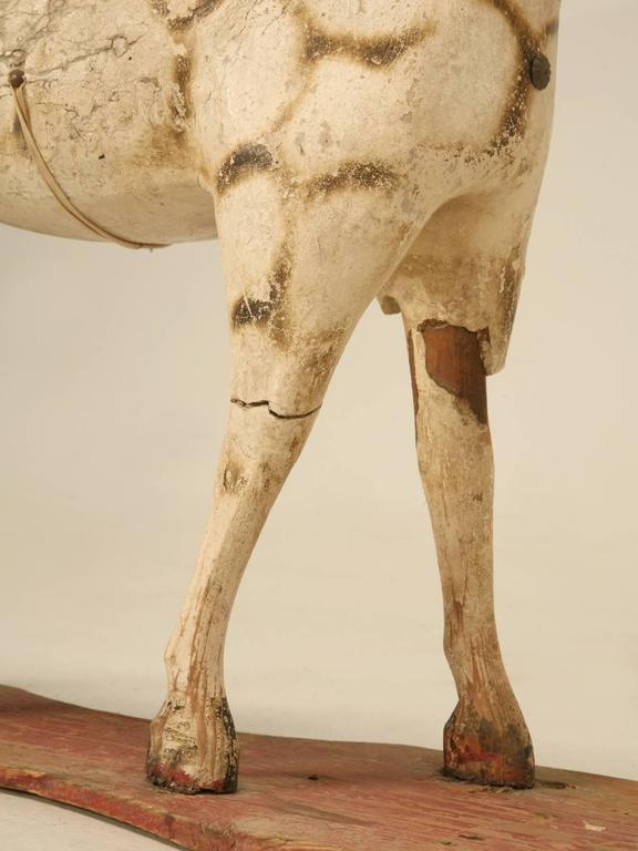 Antique child 39 s papier m ch horse for sale at 1stdibs for Vintage horseshoes for sale
