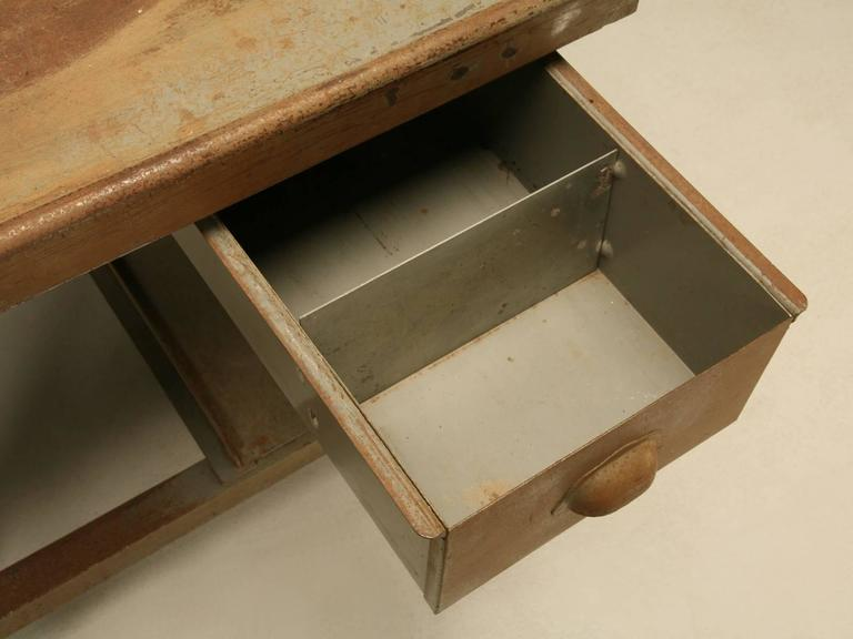 French Industrial Desk 9
