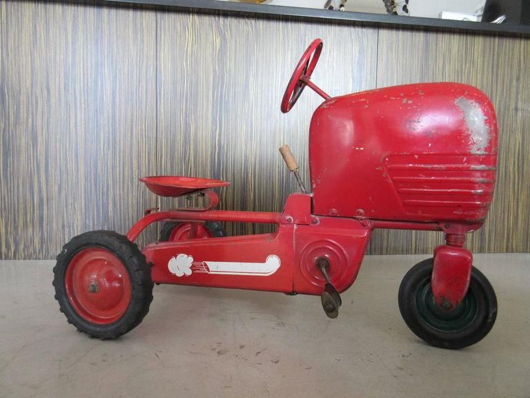 Junior Pedal Tractors Antique : Vintage american quot tractor pedal car at stdibs