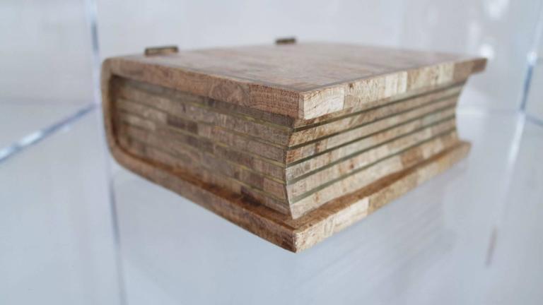 Maitland Smith Tesselated Stone Book Box 3