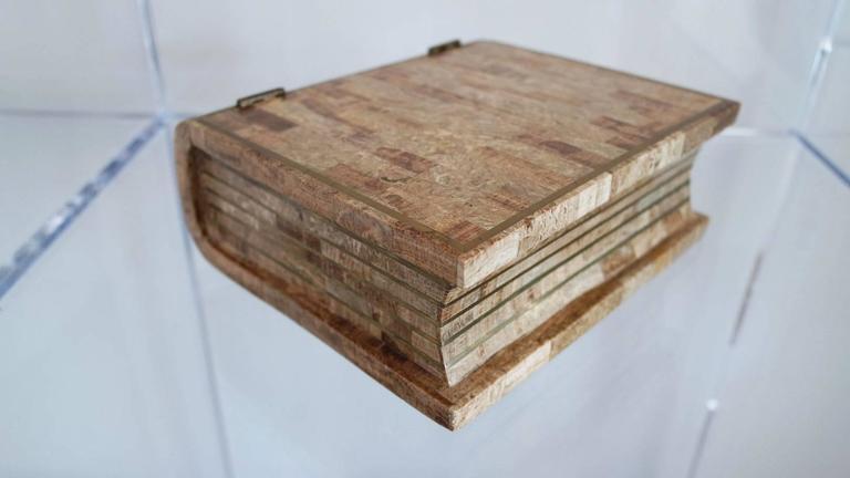 Maitland Smith Tesselated Stone Book Box 2