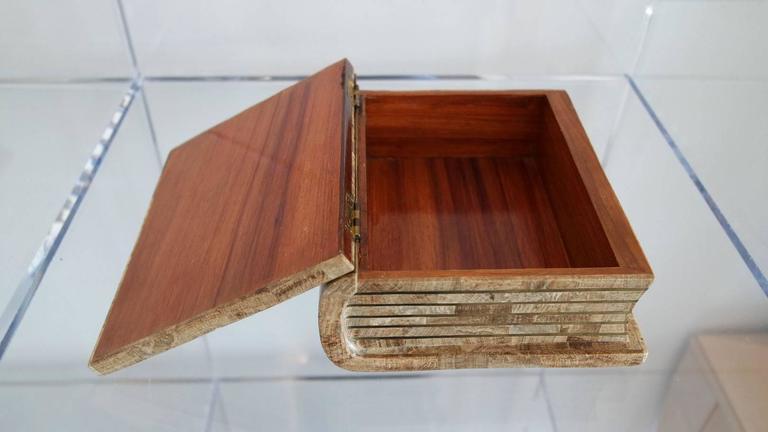 Maitland Smith Tesselated Stone Book Box 5