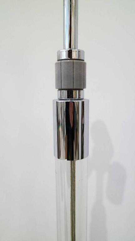 Vintage Hansen New York Lucite Floor Lamp 3