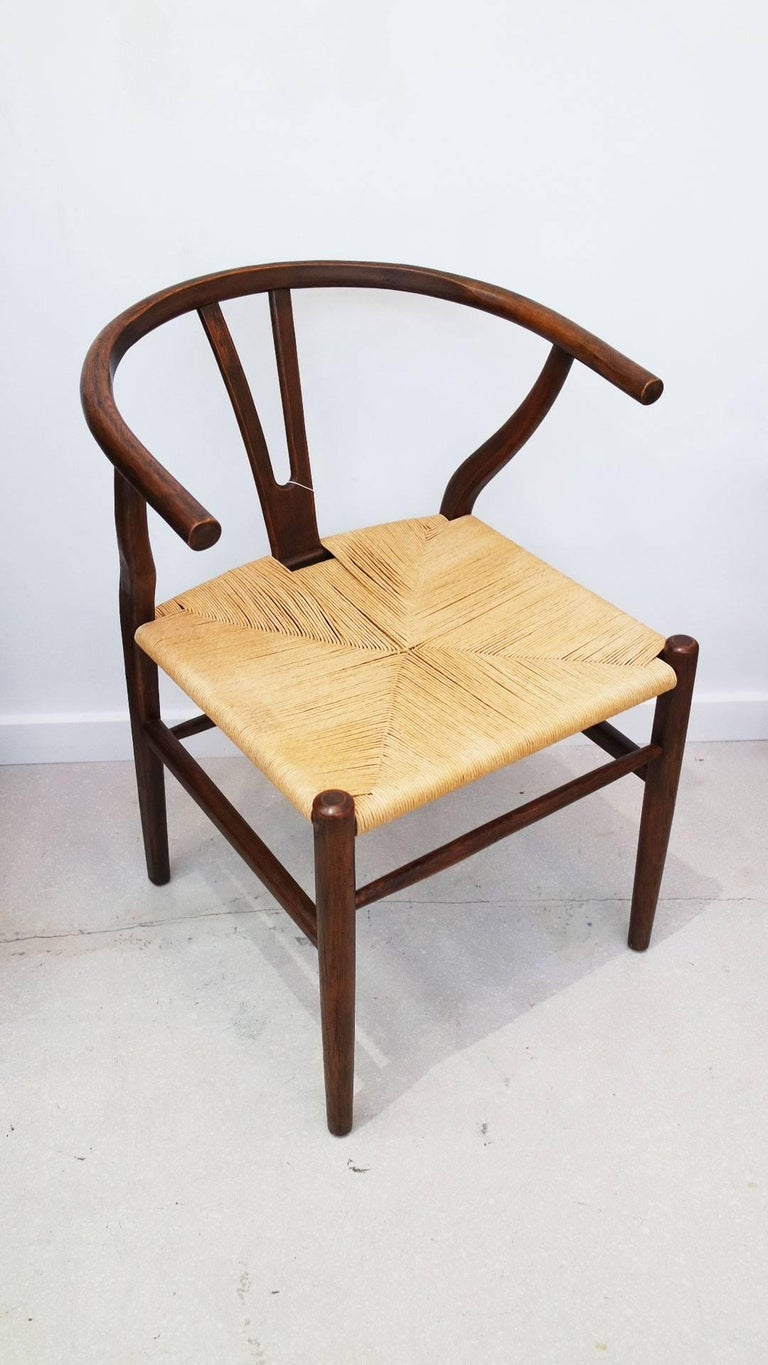 hans wegner for carl hansen wishbone chair for sale at 1stdibs. Black Bedroom Furniture Sets. Home Design Ideas