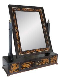 Turn of the Century Gentleman's Shaving Mirror