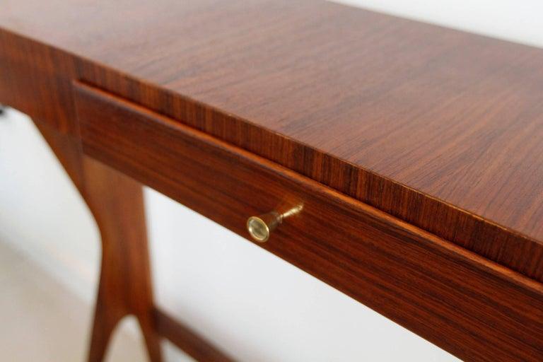 Mid-Century Modern Italian Wooden Console 4