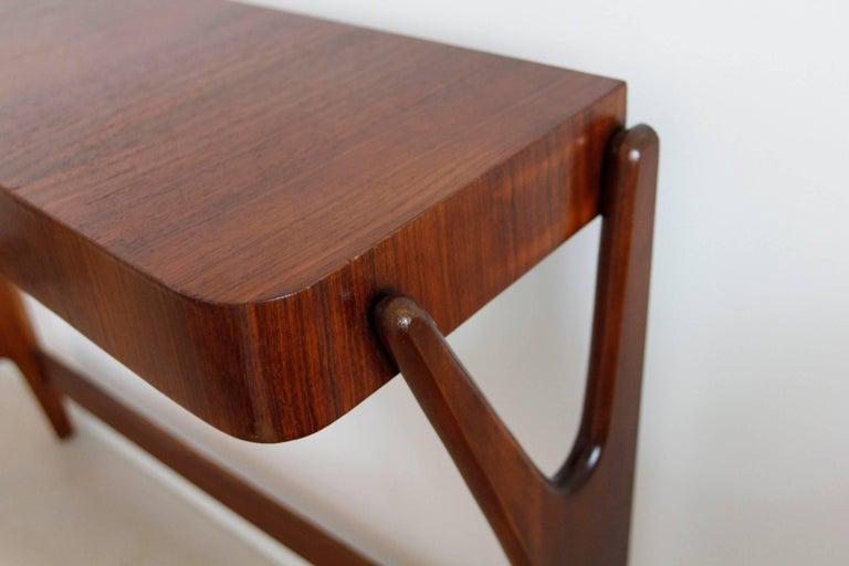 Mid-Century Modern Italian Wooden Console 5