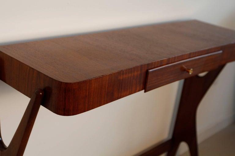 Mid-Century Modern Italian Wooden Console 8