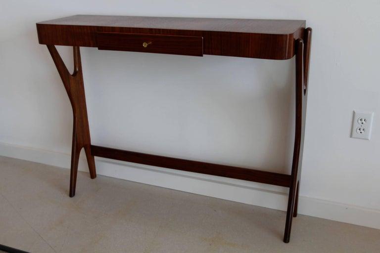 Mid-Century Modern Italian Wooden Console 9