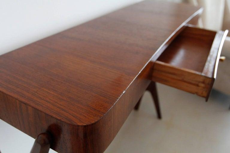 Mid-Century Modern Italian Wooden Console 6