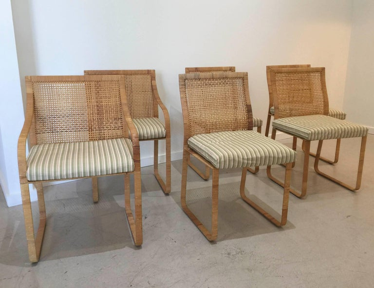 Set of Six Dining Chairs by Harvey Probber 2
