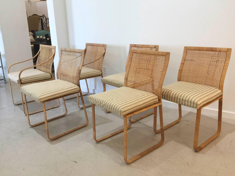 Set of Six Dining Chairs by Harvey Probber 4