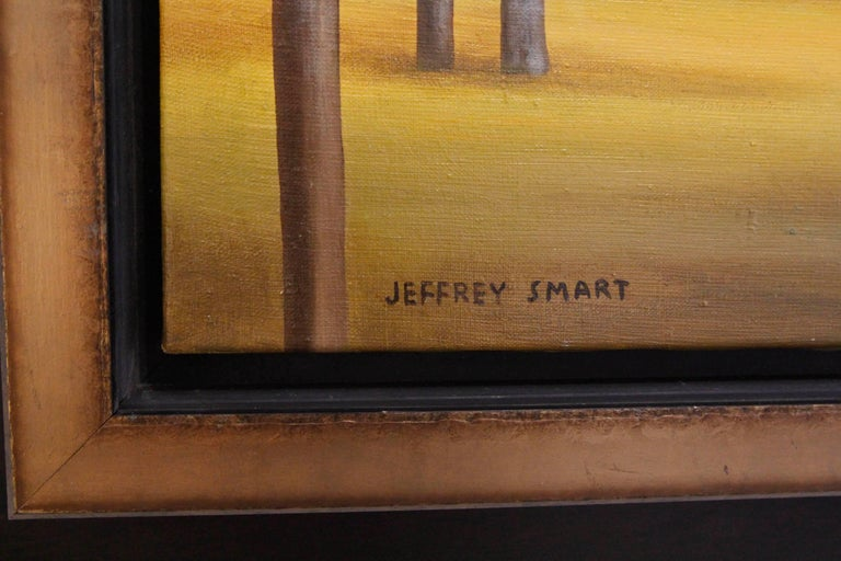 Painting in the Style of Jeffrey Smart 2