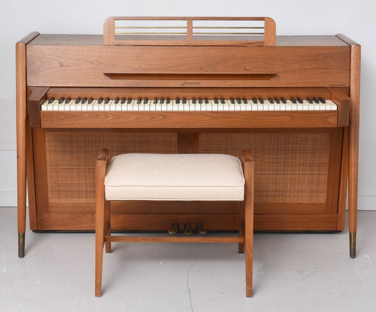 Mid century modern arcosonic spinet piano by baldwin at for Aprire piani moderni