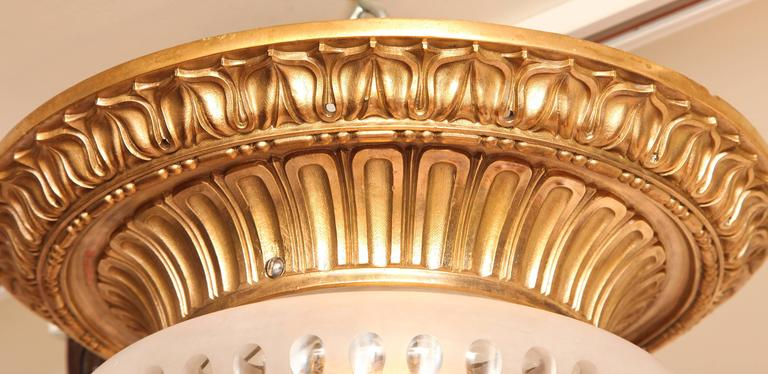 oval hair styles a bronze flush mounted ceiling light by e f caldwell for 4991
