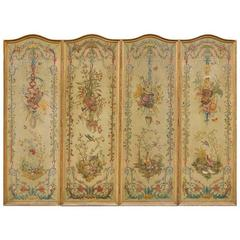 19th Century French Louis XVI Style Screen
