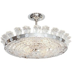 "The Decazes 18.5"" Beaded Flush Mount Fixture"