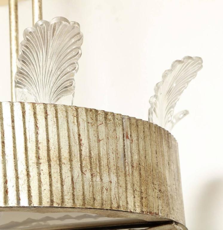 Art Deco The Eltham Single-Tier Pendant Fixture For Sale