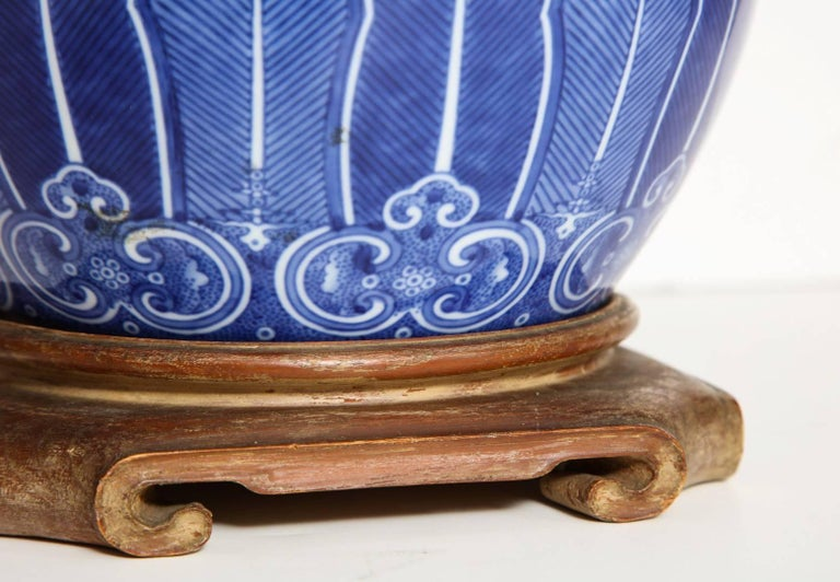 Chinese Porcelain Bowl Fitted as a Lamp 5