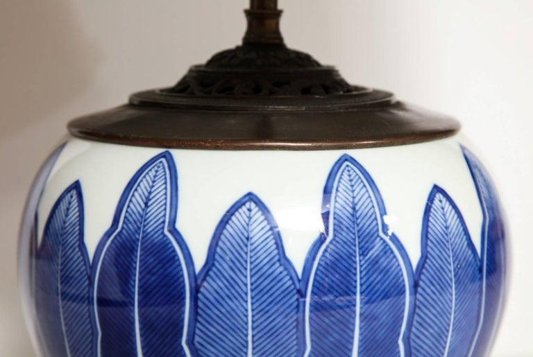 Chinese Porcelain Bowl Fitted as a Lamp 6