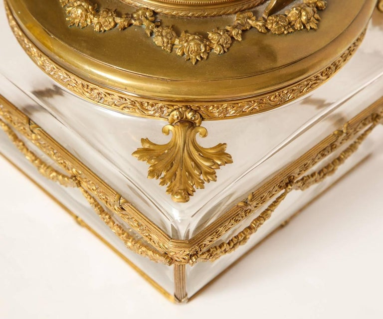 Neo-Classical Style Gilt-Brass Mounted Jewel Casket 8